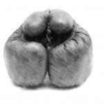 Boxing Gloves for Hosts Duking It Out