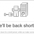 Site Down Error: We'll be back shortly...